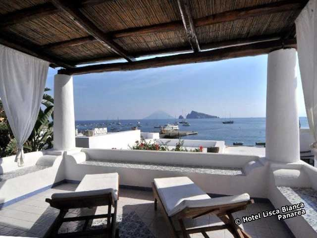 Hotel Lisca Bianca, Panarea, Isole Eolie. Hotel, alberghi, bed and ...